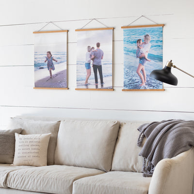 Custom Photo Hanging Canvas