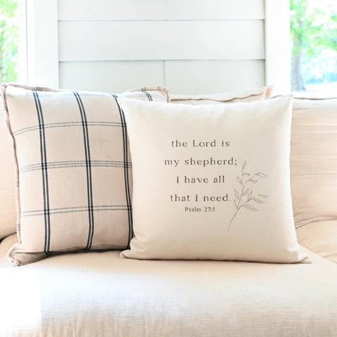 The Lord is My Shepherd | Pillow
