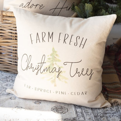 Farm Fresh Christmas Trees | Pillow