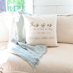 This is Us | Custom Pillow