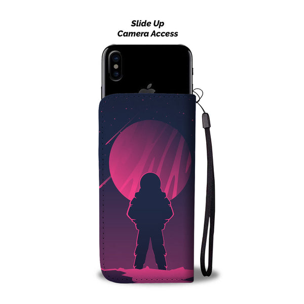Man on Mars Wallet Phone Case