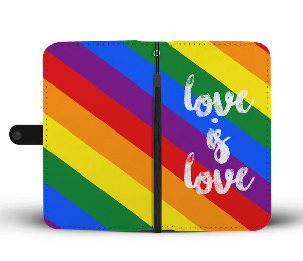 Love is Love Wallet Phone Case