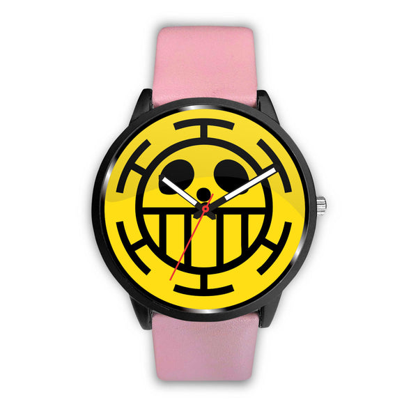 One Piece Trafalgar Law Flag Emblem Watch - Black Rukh