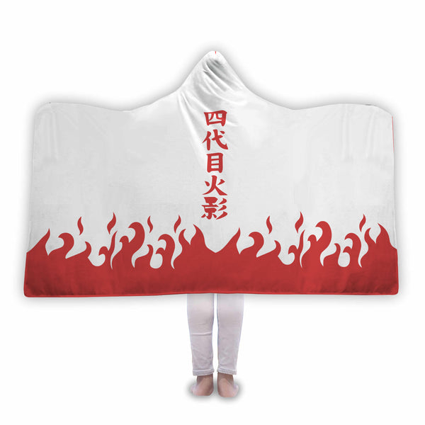 Naruto Fourth Hokage Hooded Blanket