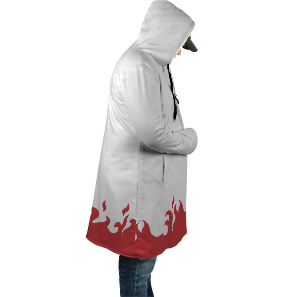 Naruto Seventh Hokage AOP Cloak - Black Rukh