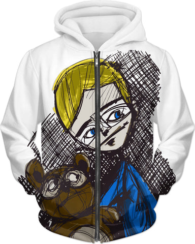 """Grin and Bear"" Hoodie"