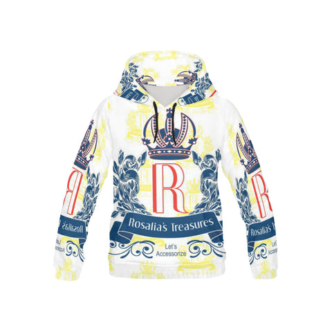 Rosalia's Treasures Royale All Over Print Hoodie for Kid (USA Size) (Model H13)