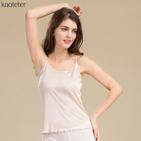 Silk Knit Cami