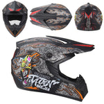 High Quality Motorcycle helmet Protective capacete motorcycle for Women & Men off road motocross Helmets DOT approved