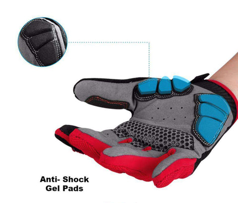 Cross Handschoenen - Mega Grip - Anti Shock Gel