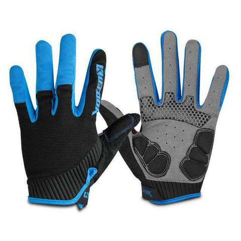 Cross Handschoenen - Mega Grip - Anti Shock Gel Blauw / Xxl