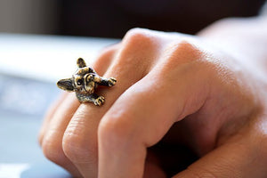 Doggie Doggie Dog Ring - whimsyandever