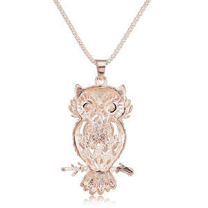 Fairy Owl Necklace - whimsyandever