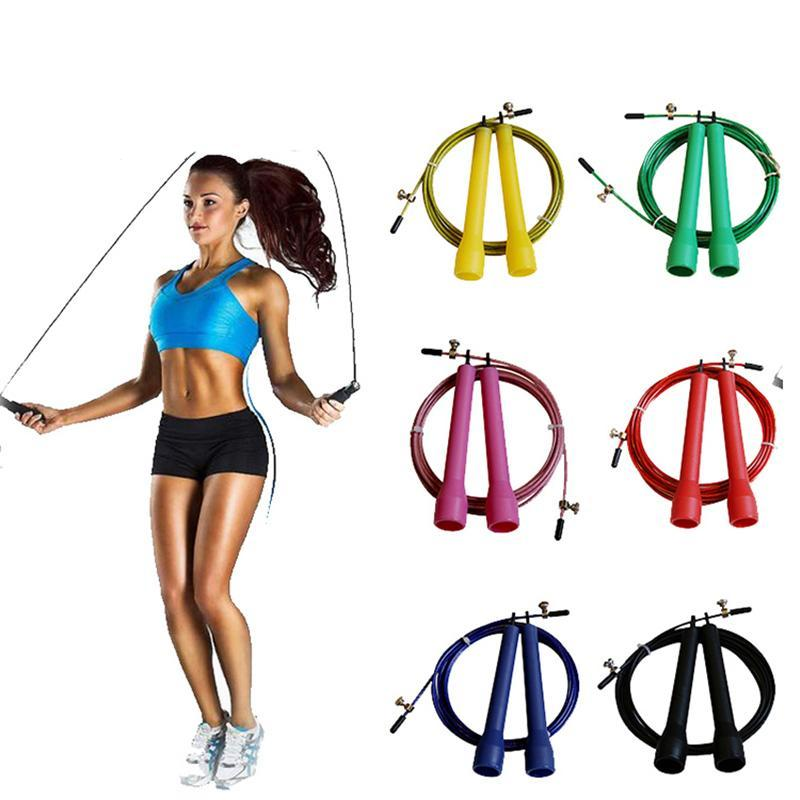 Throwback Aerobic Steel Wire Jump Rope - whimsyandever