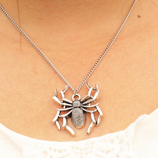 Peter Parker Spider Necklace - whimsyandever