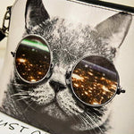 Cool Cat in the City Bag - whimsyandever