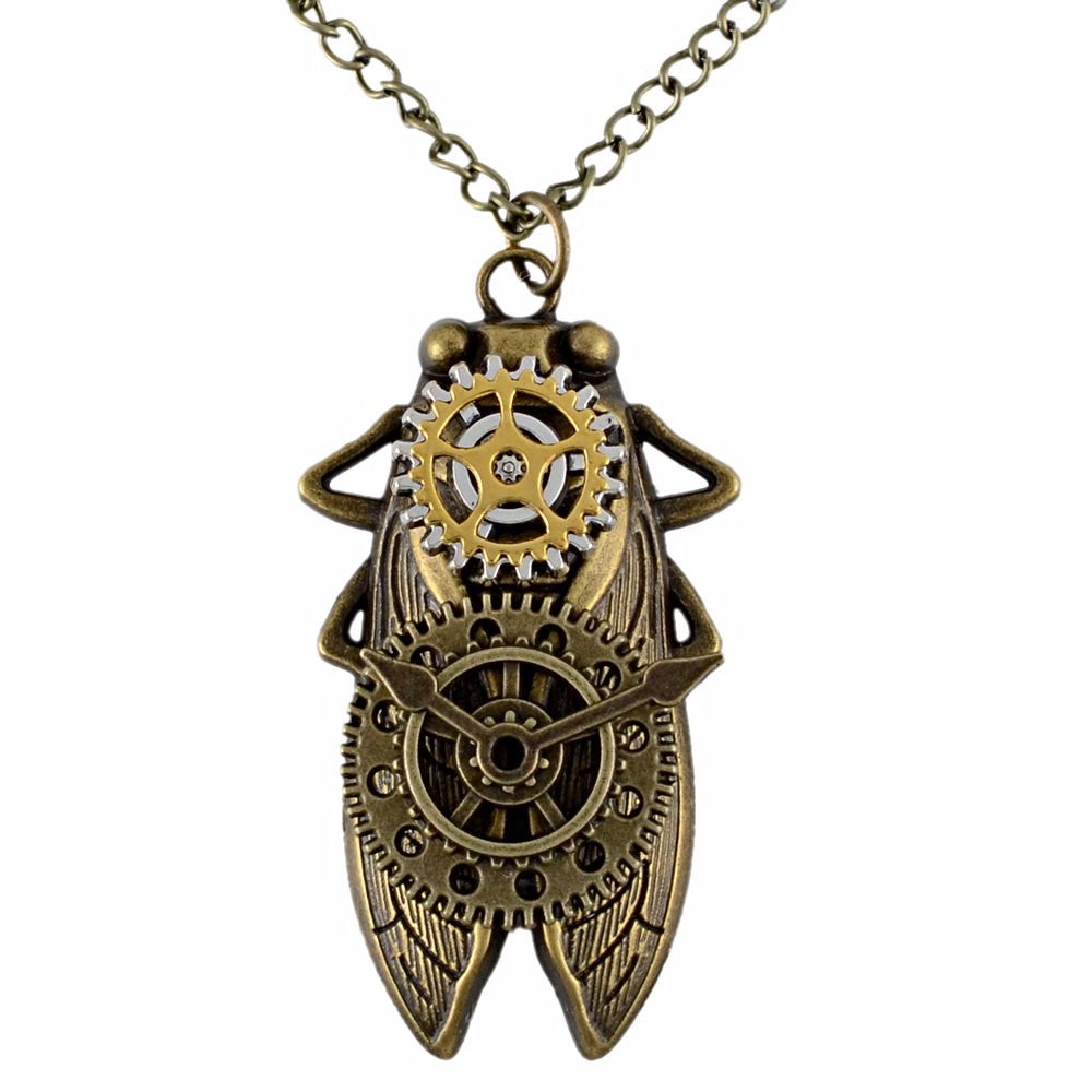 Creepy Crawley Insect Necklace - whimsyandever