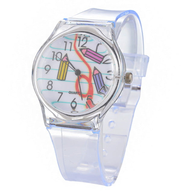 Invisible Painted Silicone Watch - whimsyandever