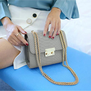 Alligator Mini Crossbody Bag - whimsyandever