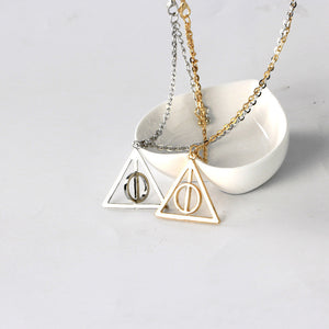Deathly Hallows Antique Necklace - whimsyandever
