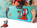 Dog Castle Wallet - whimsyandever