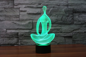 Mystical Yoga LED Nightlight - whimsyandever