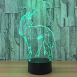 Coy Unicorn Color Changing Nightlight - whimsyandever