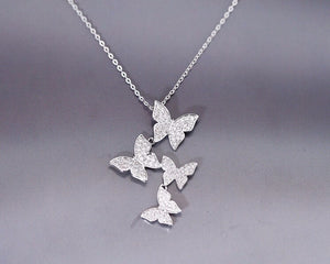 Butterfly Dance Necklace - whimsyandever