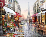 A Stroll Through Paris: Van-Go Paint-By-Number Kit - whimsyandever