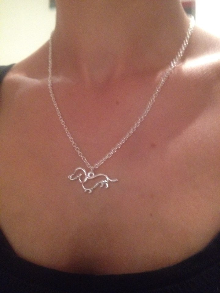 Dachshund Puppy Necklace - whimsyandever