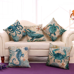 Under the Sea Cushion Cover - whimsyandever