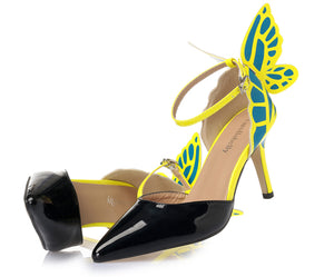 Fly Away Butterfly Heels - whimsyandever