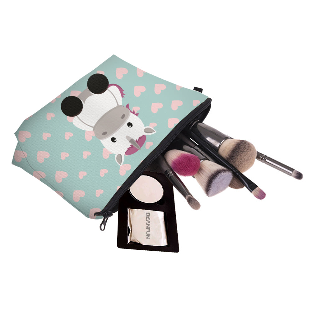 Unicorn and Friends Cosmetics Bag - whimsyandever