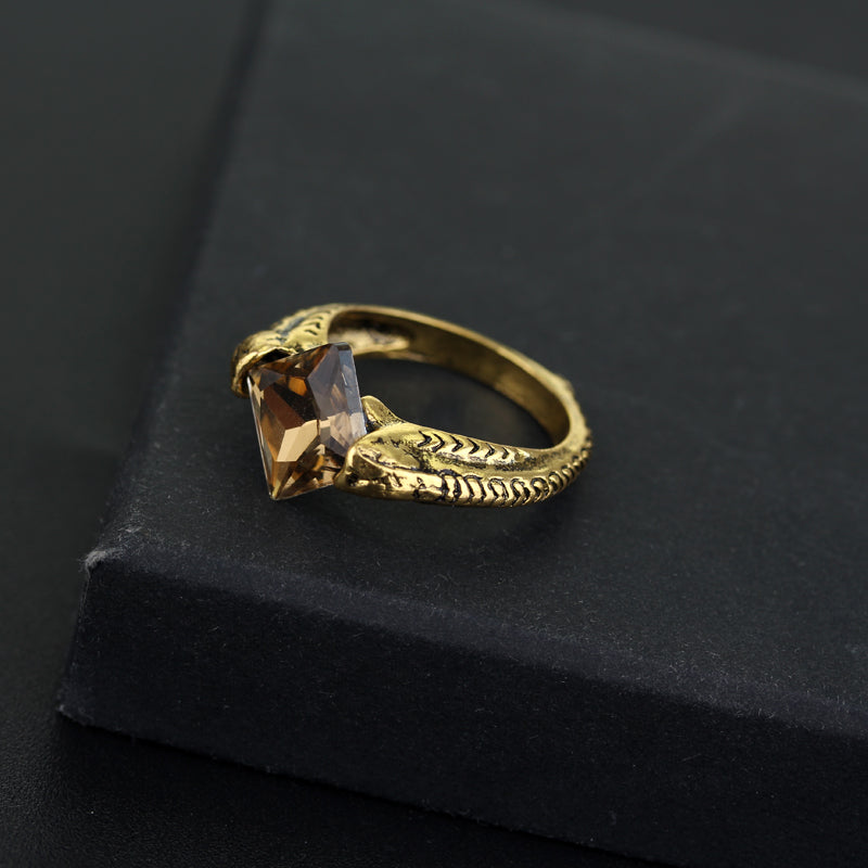 Resurrection Stone Horcrux Ring - whimsyandever