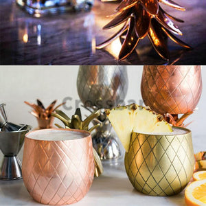 Island Pineapple Cocktail Cups - whimsyandever