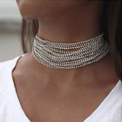 Ice Empress Choker Necklace - whimsyandever
