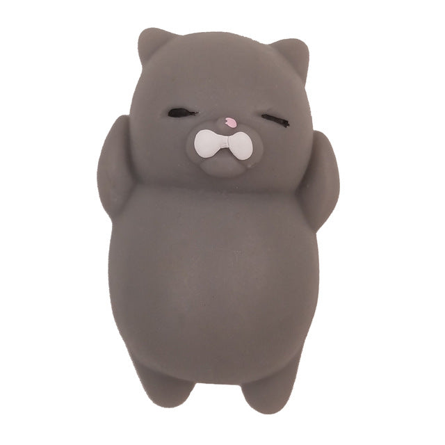 Squishy Cat Stress Reliever - whimsyandever