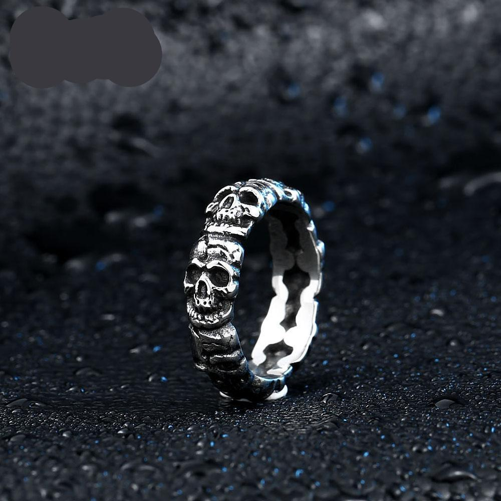 Circle of Skulls Ring - whimsyandever
