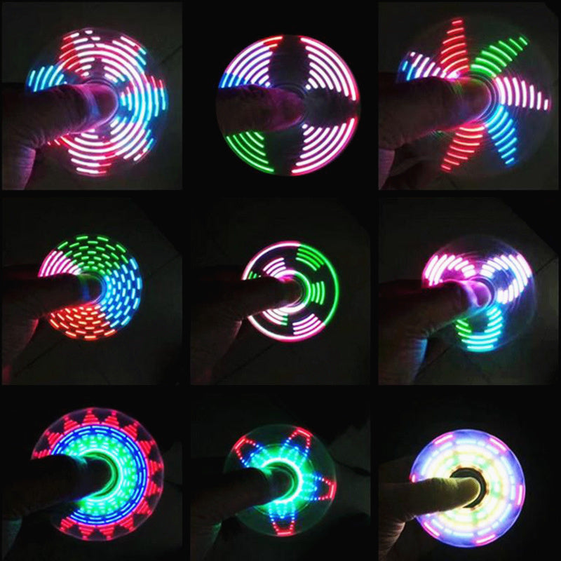 LED Light Fidget Spinner - whimsyandever