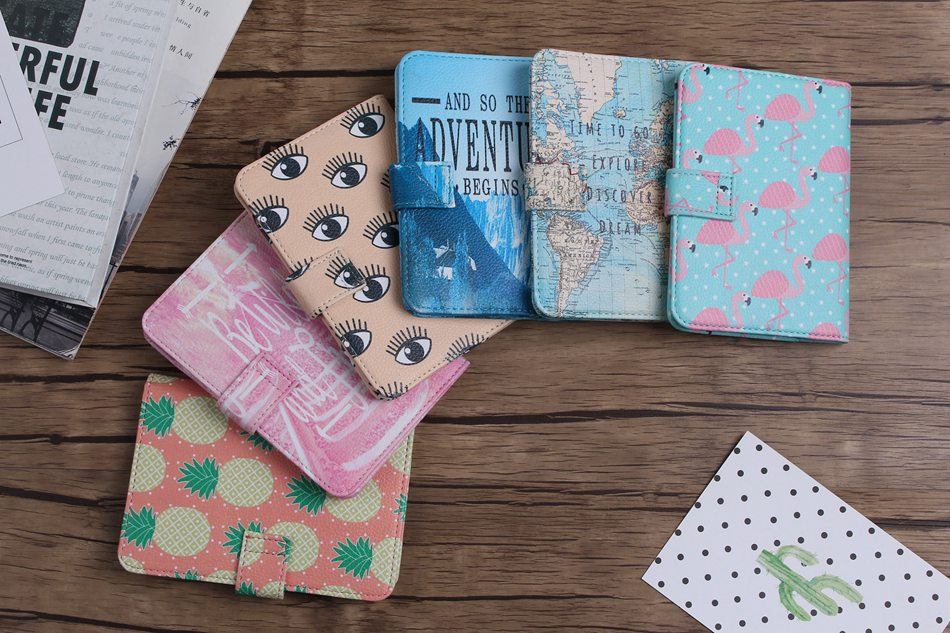 So The Adventure Begins Passport Holder - whimsyandever