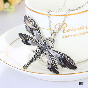 Dragonfly Fairy Dust Necklace - whimsyandever