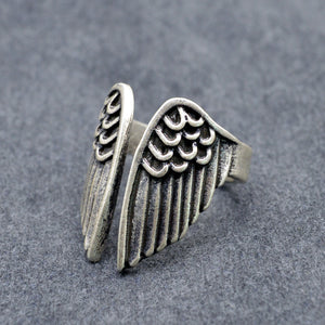 Angel Feathers Ring - whimsyandever