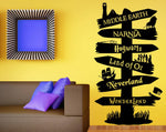 Where Shall I Go Wall Decal - whimsyandever