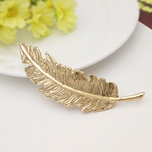 Phoenix Tail Feather Hair Clip - whimsyandever