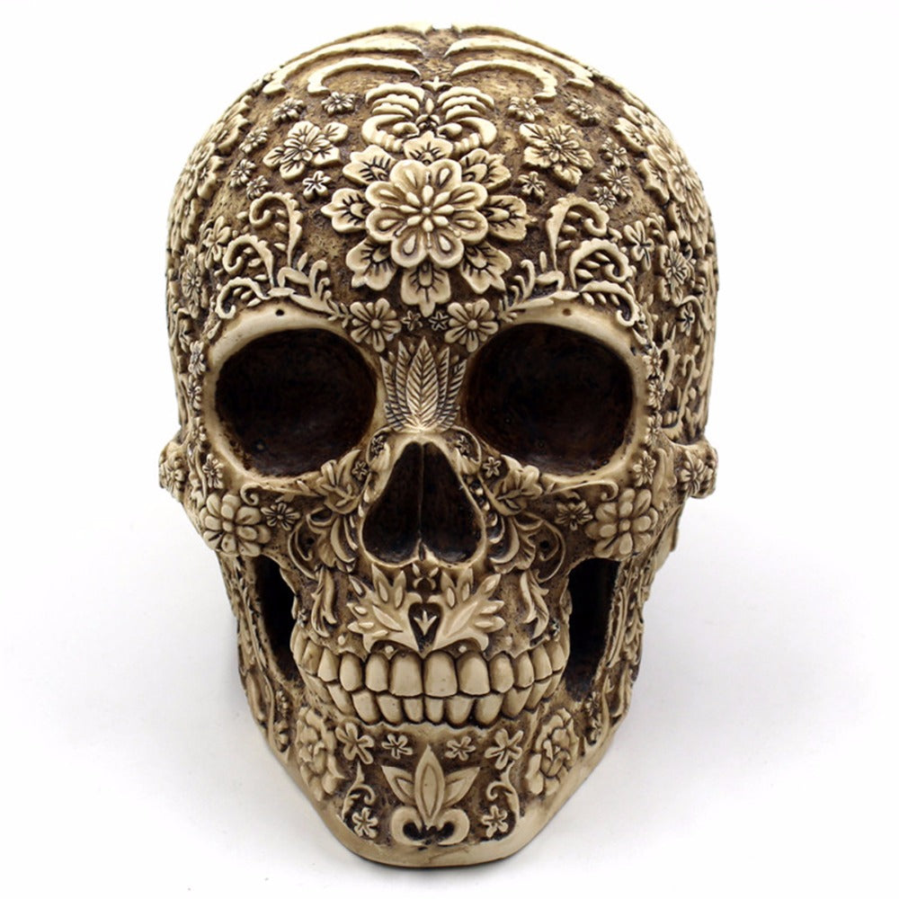 Rosy Skull Home Decor - whimsyandever