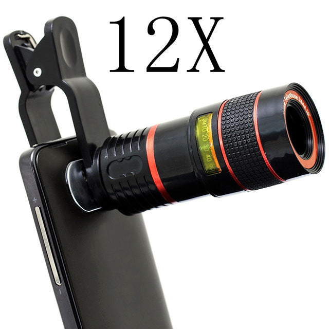 Telescope Camera Lens Phone Clip - whimsyandever
