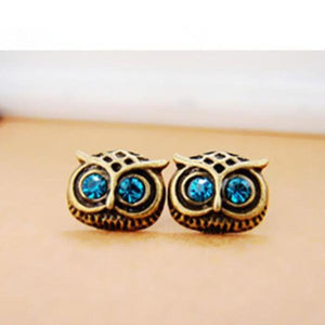 Wise Owl Stud Earrings - whimsyandever