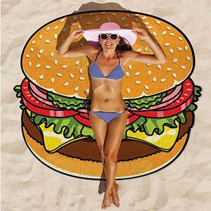 Yum Foodie Beach Cover Up - whimsyandever