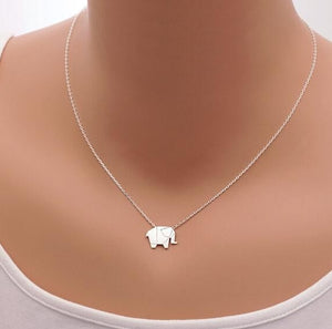 Origami Elephant Necklace - whimsyandever