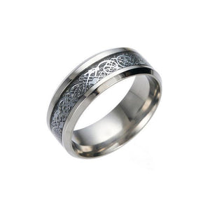 Dragon Steel Glowing Ring - whimsyandever